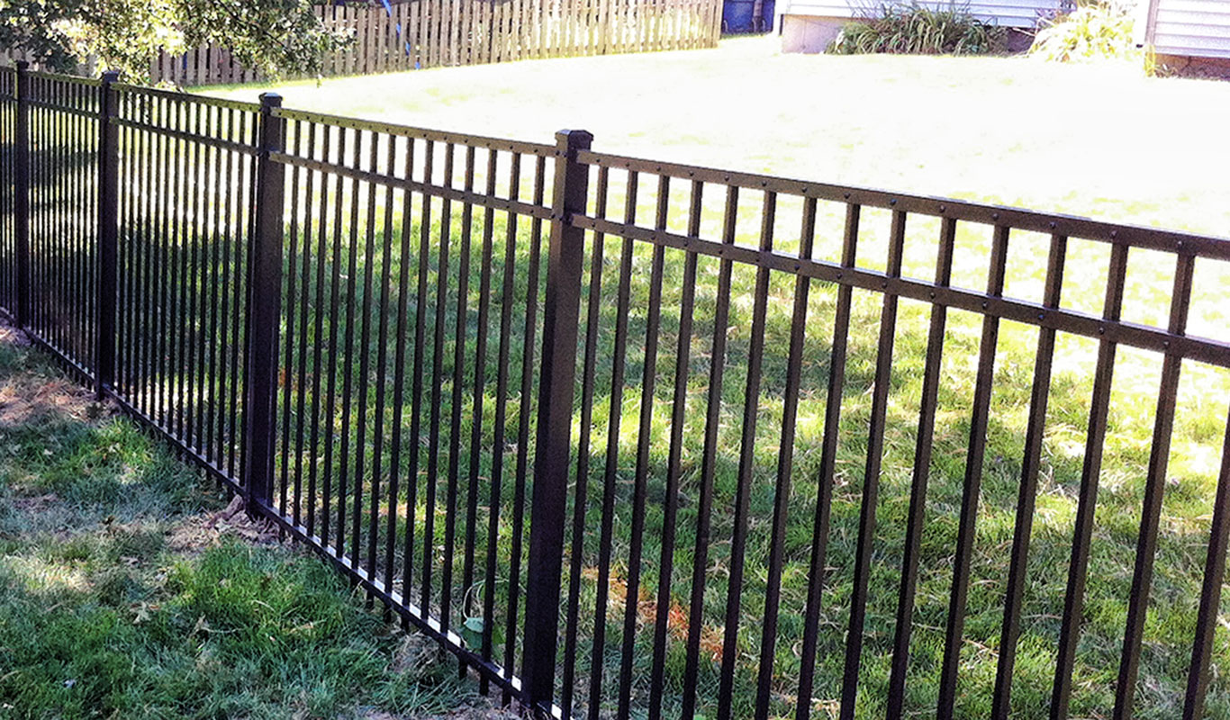 Aluminum Fence Installation First Steps